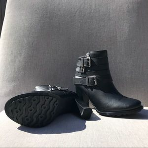 Never Worn Harley-Davidson Black Learher Heels